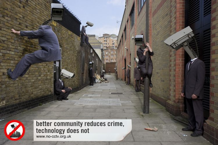better community reduces crime, technology does not
